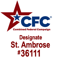 Support St. Ambrose #36111 with your Combined Charities contribution